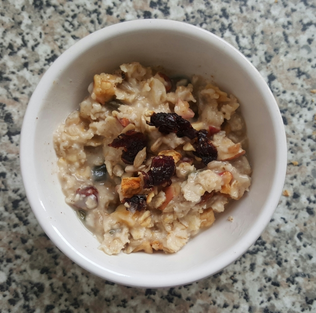 Porridge a l avoine