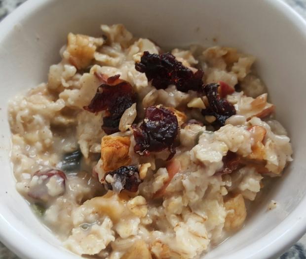 Porridge vegetal