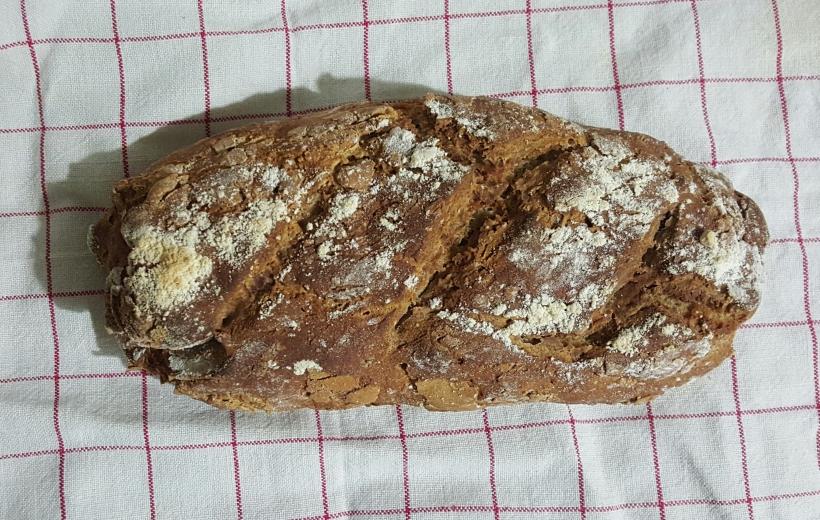 pain rustique au sarrasin