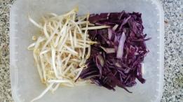 Salade de choux soja