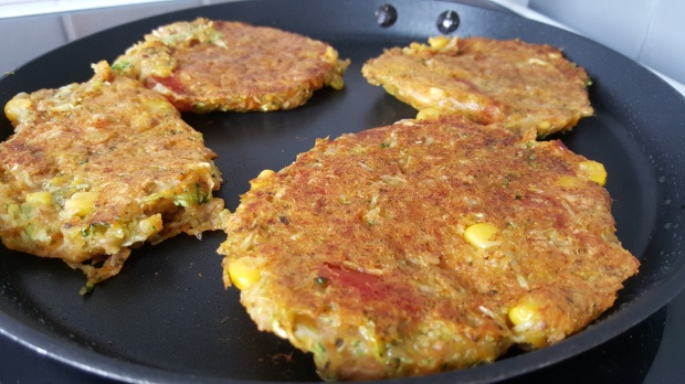 Galettes legumes healthy