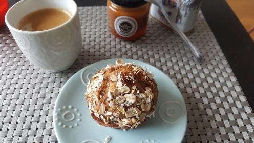 Muffin minceur pomme cannelle sans beurre