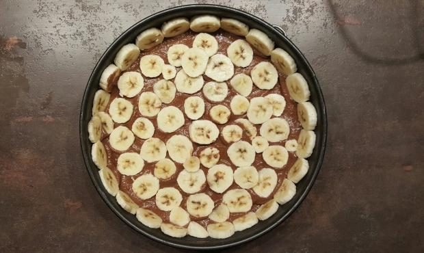 Gateau chocolat banane healthy vegan cru
