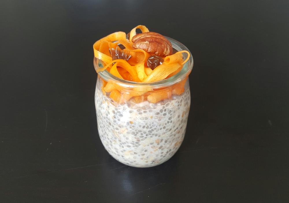 Porridge chia avoine healthy
