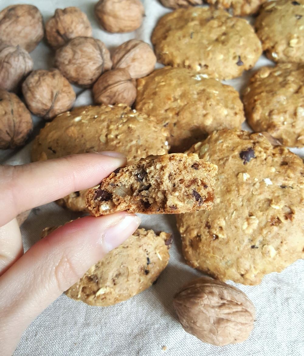 biscuits-cookies-aux-noix-sans-matiere-grasse